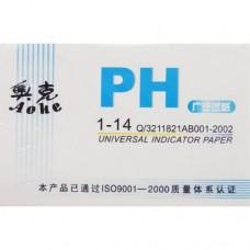 Лакмусовая бумага для измерения PH